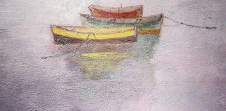 Хосе Санча Закотвени лодки