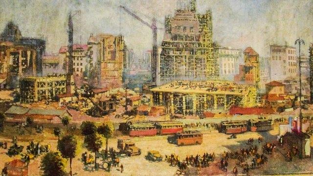 Владимир Мански София-центъра 1953